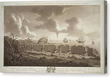 Seacoast Canvas Print - Carenage Bay by British Library