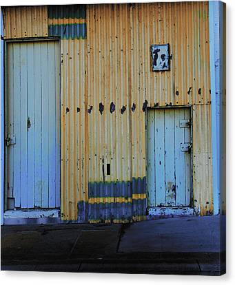Cargo Shed  Canvas Print