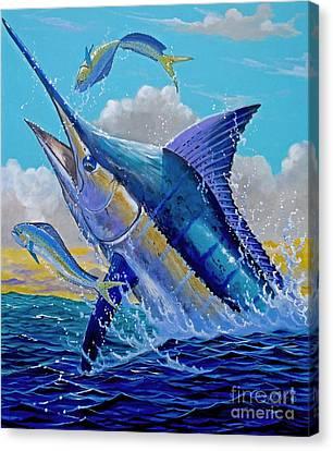 Carib Blue Canvas Print
