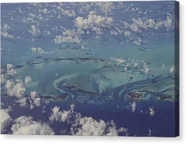 Caribbean Aerial 3 Canvas Print