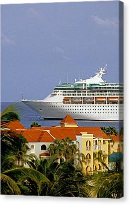 Caribbean Cruise Canvas Print