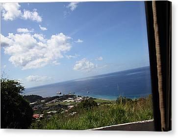 Caribbean Cruise - Dominica - 121250 Canvas Print