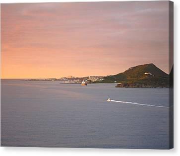 Caribbean Cruise - On Board Ship - 1212187 Canvas Print