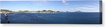 Caribbean Cruise - St Kitts - 12125 Canvas Print by DC Photographer