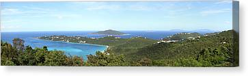 Caribbean Cruise - St Thomas - 121212 Canvas Print by DC Photographer