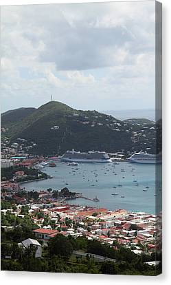 Caribbean Cruise - St Thomas - 1212201 Canvas Print by DC Photographer