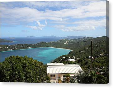 Caribbean Cruise - St Thomas - 1212224 Canvas Print by DC Photographer