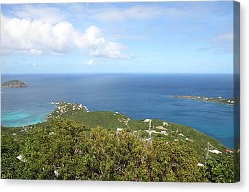 Caribbean Cruise - St Thomas - 1212226 Canvas Print by DC Photographer