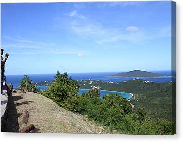 Caribbean Cruise - St Thomas - 1212235 Canvas Print