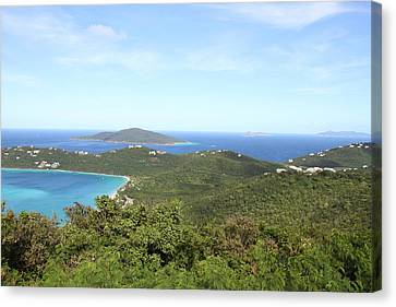 Caribbean Cruise - St Thomas - 1212240 Canvas Print by DC Photographer