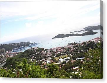 Caribbean Cruise - St Thomas - 1212248 Canvas Print by DC Photographer