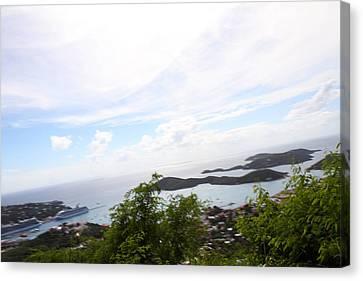 Caribbean Cruise - St Thomas - 1212251 Canvas Print by DC Photographer