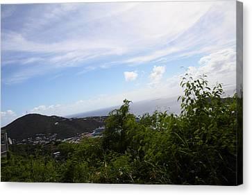 Caribbean Cruise - St Thomas - 1212252 Canvas Print by DC Photographer