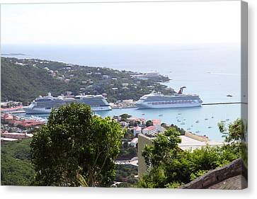 Caribbean Cruise - St Thomas - 1212268 Canvas Print