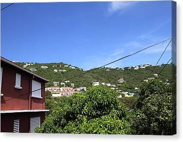 Caribbean Cruise - St Thomas - 1212289 Canvas Print by DC Photographer