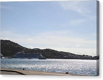 Caribbean Cruise - St Thomas - 121248 Canvas Print by DC Photographer