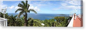 St Canvas Print - Caribbean Cruise - St Thomas - 12126 by DC Photographer