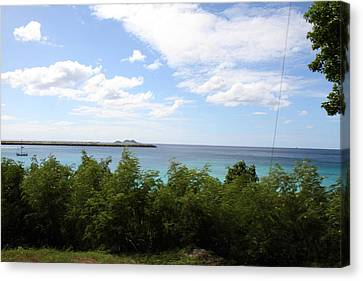 Caribbean Cruise - St Thomas - 121277 Canvas Print by DC Photographer