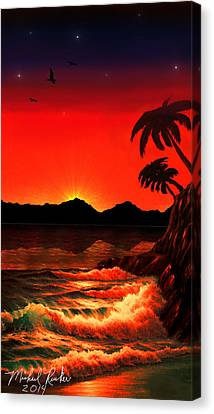 Caribbean Islands Canvas Print