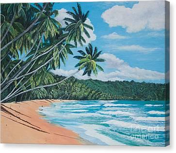 Caribbean Jewel -1 Canvas Print
