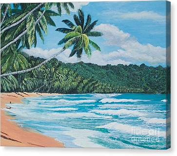 Caribbean Jewel -3 Canvas Print