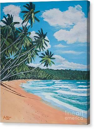 Caribbean Jewel Canvas Print
