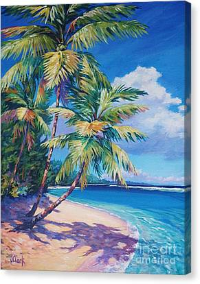 Caribbean Paradise Canvas Print by John Clark