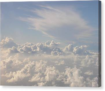 Caribbean Sky Canvas Print by Christian Zesewitz