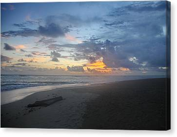 Caribbean Sunrise Canvas Print by Mustafa Abdullah