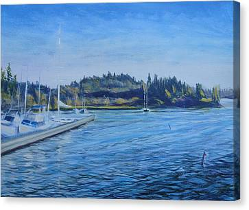 Carilllon Point Marina Canvas Print by Charles Smith