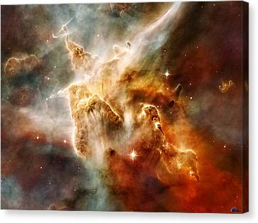 Carina Nebula Canvas Print by Celestial Images