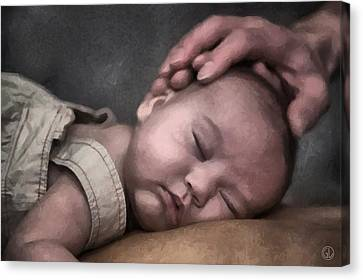 Caring Hands Canvas Print by Gun Legler