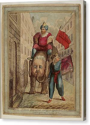 Carlo Khan Canvas Print by British Library