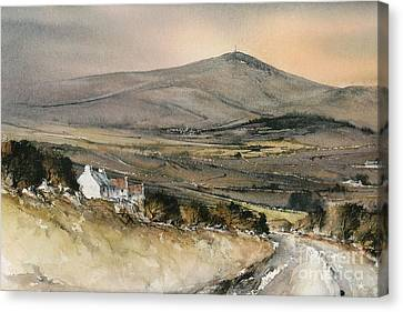 Carlow Mount Leinster  Canvas Print