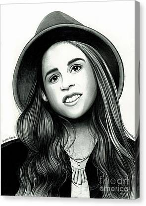 Carly Rose Sonenclar Canvas Print