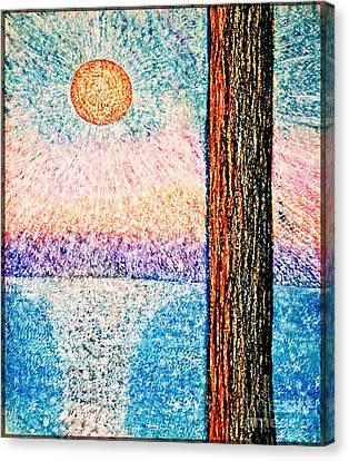 Carmel Highlands Sunset Canvas Print