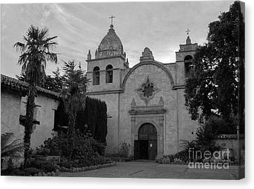 Carmel Mission Canvas Print by James B Toy