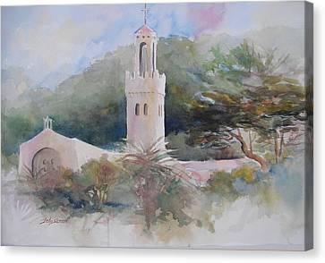 Carmelite Monastery  Canvas Print by John  Svenson