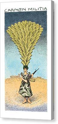 Carmen Militia Canvas Print by John O'Brien