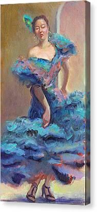 Carmencita Dances Canvas Print by Gwen Carroll
