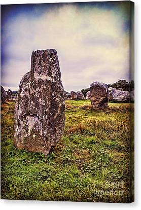 Carnac Canvas Print by Colin and Linda McKie