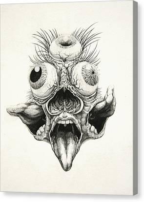Carnamandala Canvas Print by Tijmen Brozius
