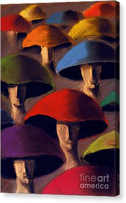 Carnaval Canvas Print by Mona Edulesco