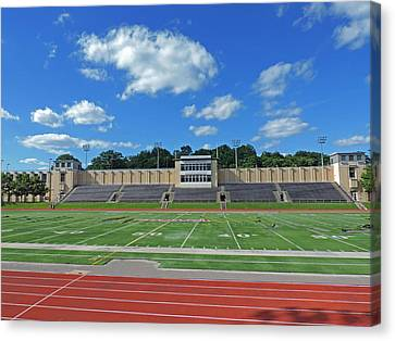 Carnegie Mellon University Football Field Canvas Print by Cityscape Photography