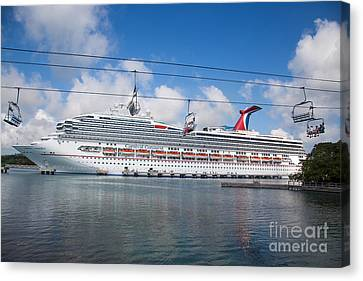 Carnival Conquest Canvas Print by Rene Triay Photography