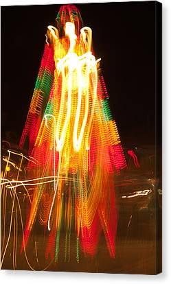 Canvas Print featuring the photograph Carnival Guardian by Terri Harper