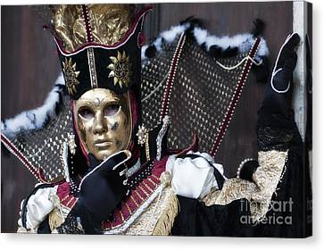 Carnival In Venice 13 Canvas Print by Design Remix