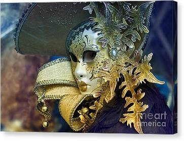 Carnival In Venice 18 Canvas Print by Design Remix