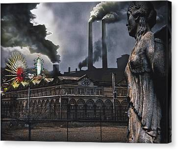 Carnival Canvas Print by Larry Butterworth