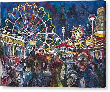 Carnival Canvas Print by Patricia Allingham Carlson